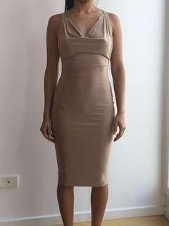 Meshki beige dress