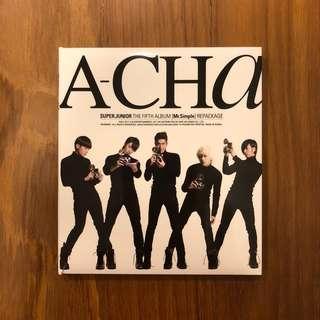 Super Junior A-Cha album (Mr. Simple repackage)