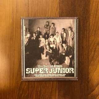 Super Junior The Second Album
