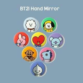 PO BT21 hand mirror