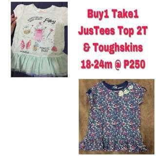 Baby Tops/Dresses 2T