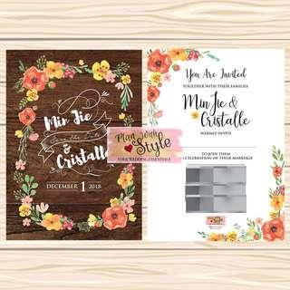 WC29 ~ Wedding Card