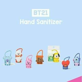 PO BT21 hand sanitizer