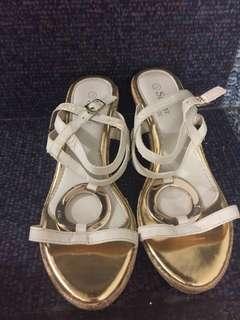 Buy1 Take1 Sugar Kids & Mustard Yellow Wedge Shoes Size 37