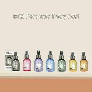PO BT21 parfume body mist