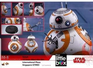 [STOCK] HOT TOYS Movie Masterpiece Series MMS440 - Star Wars: The Last Jedi - BB8