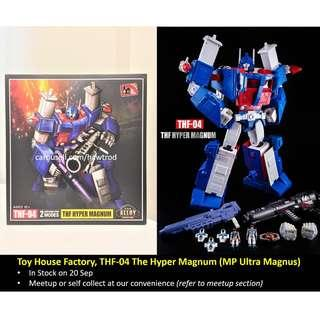 (In Stock) Toy House Factory THF, THF-04 MP-22 The Hyper Magnum (MP Ultra Magnus)