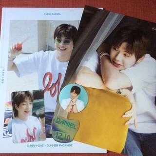 Wanna One Summer Packaged Daniel Set