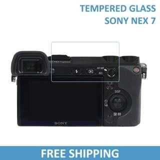 Sony Nex 7 Tempered Glass Screen Protector