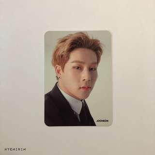Monsta X The Connect Encore Official Goods Photocard Album : Jooheon Photocard