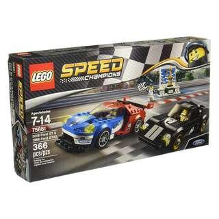 [In hand] LEGO 75881 Speed Champions - 2016 Ford GT & 1966 Ford GT40