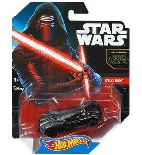 Hot Wheels Star Wars The Force Awakens kylo Ren Hotwheels Vehicles MISB