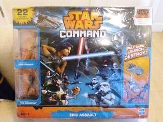Star Wars Command Epic Assault 星球大戰 模型玩具一套 (22件)