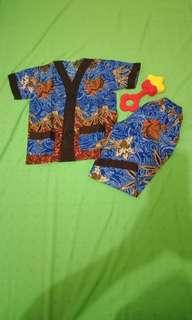 baju tidur piyama Batik