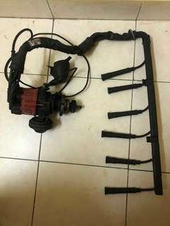 Bmw E30/32 distributor and spark plug cables