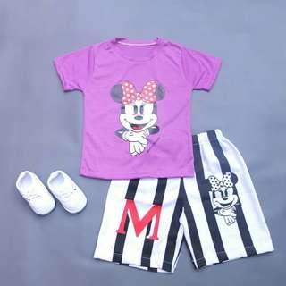 Setelan Minnie Mouse