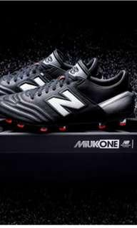 Grade 1 full leather New Balance MiUK One FG Firm Ground soccer cleats