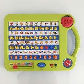 Toys R Us BRUIN ABC 123 Board - English Edition - Baby/Toddler/Children - Electronic Talking & Learning Board