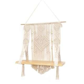 Macrame Plant Pot Hanging Shelf