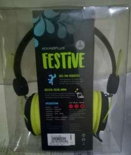 Headphone/headset Festive