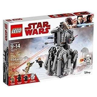 [In hand] LEGO 75177 Star Wars - First Order Heavy Scout Walker
