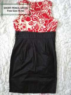 Short dress duo colour