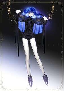 Hnk lapis fansart cosplay costume