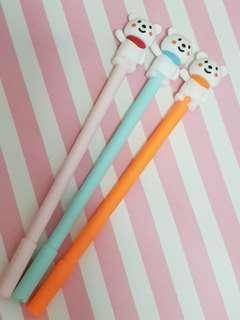 Bear Capped Pens