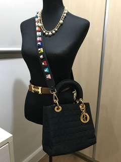 HOT ITEM! Authentic Lady Dior with Piumelli Strap