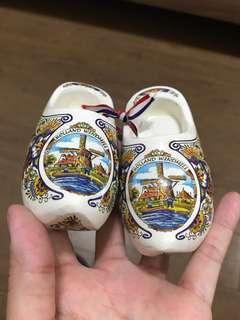 🚚 荷蘭木鞋擺飾