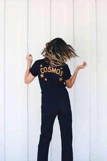 Dolls Kill (Dollskill) Cosmos Jumpsuit Coveralls Boiler Suit