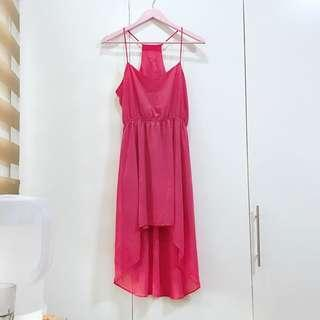 Forever 21 salmon pink dress