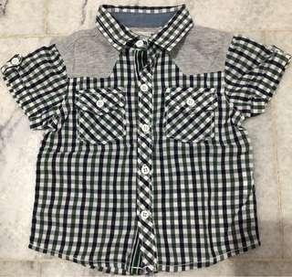 Kemeja - Gingersnaps Baby Boy Shirt - 12