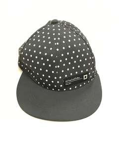Black Polka Dot Hat