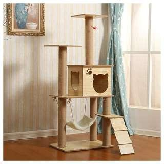 Sale cat condo tree scratch post board wood sisal toy, not carrier bed cage kitten