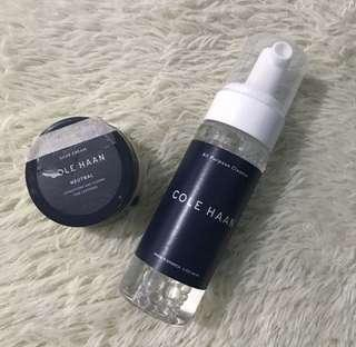 Take both!!! Cole Haan Shoe Cleaners