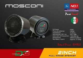 2 inch Full Range Speaker Mosconi Italy Brand