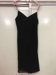 ❗️ON SALE❗️CELINE black party sleeves dress