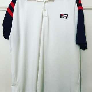 Vintage fila shirt