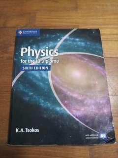 🚚 Physics for IB Diploma by K. A. Tsokos 6th Edition