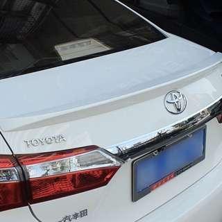 Toyota Altis 14 Bootlip