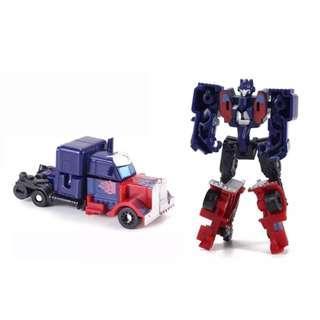New Transformer Optimus Prime cake topper decorations figurines toys car transformer robot