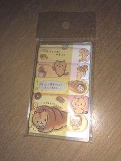 購自日本—貓咪 memo紙