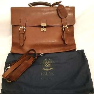 🚚 Top Italian Leather Document Bag!