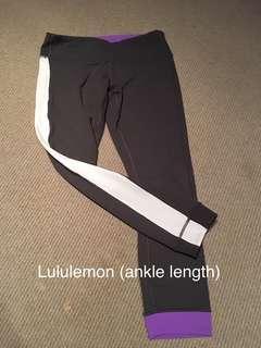 Lululemon ankle legging, size 6 excellent condition