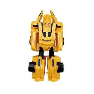 New Transformers Bumblebee cake topper decorations car robot toys figurine