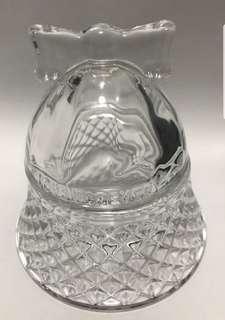 Trinket Glass Bell Holder / Charm
