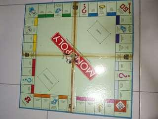 Monopoly Singapore edition loose