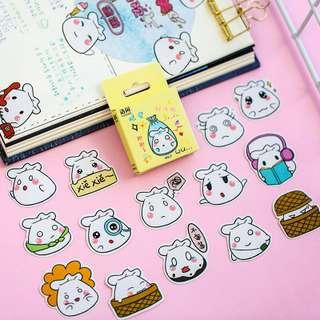 Adorable Steamed Buns Scrapbook / Planner Stickers #222