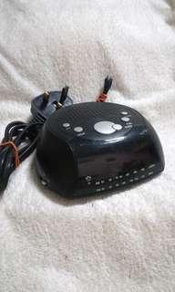 Vintage Tesco Digital Alarm Clock Radio